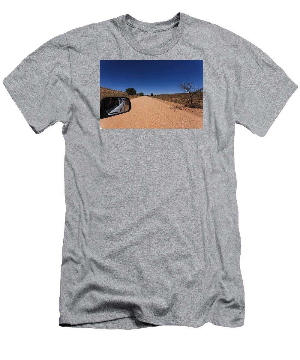 Kalahari Desert Men's T-Shirt (Athletic Fit) featuring the photograph Kgalagadi by Davide Guidolin