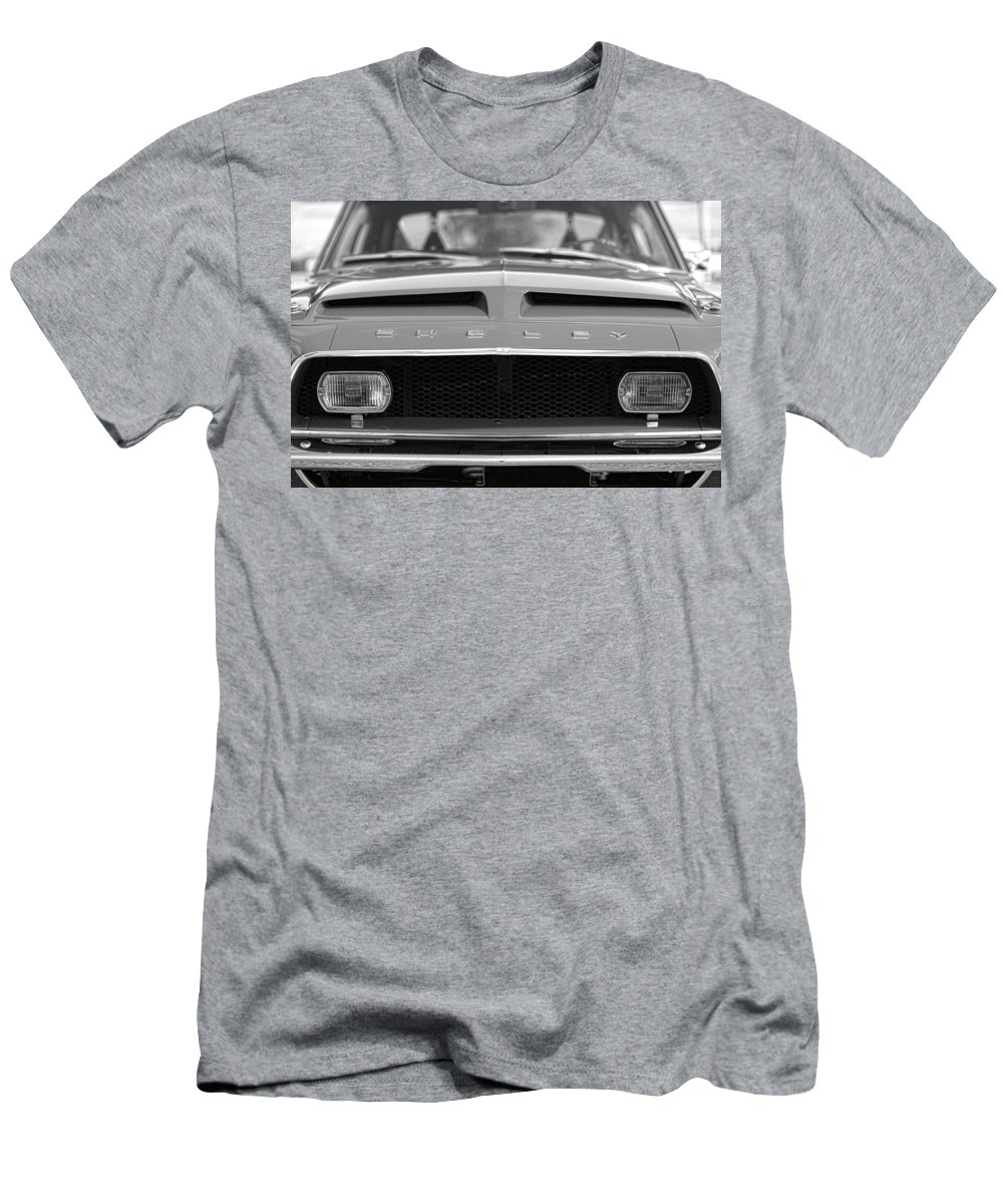 1968 Men's T-Shirt (Athletic Fit) featuring the photograph 1968 Ford Mustang Shelby Gt500 Kr - King Of The Road by Gordon Dean II