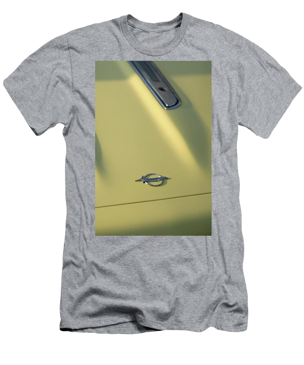 1968 Men's T-Shirt (Athletic Fit) featuring the photograph 1968 Plymouth Barracuda by Gordon Dean II