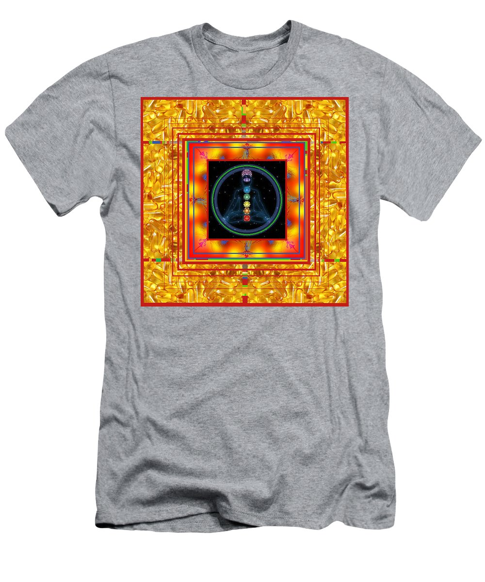 T-Shirt featuring the digital art Find Your Mind by Kenneth A Post
