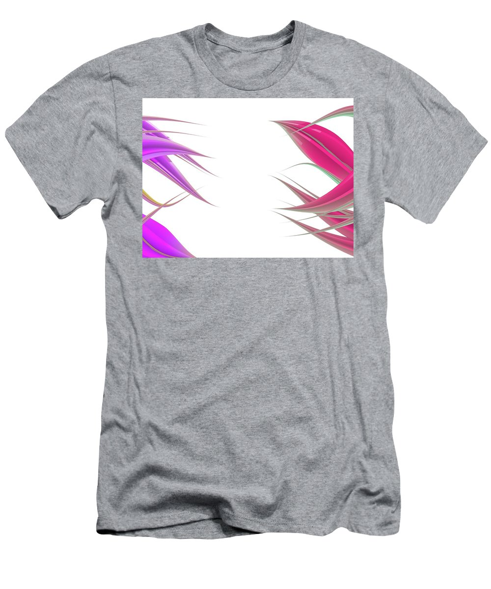 Background Men's T-Shirt (Athletic Fit) featuring the digital art Abstract Background by Luis Pablo Escoto Hernandez