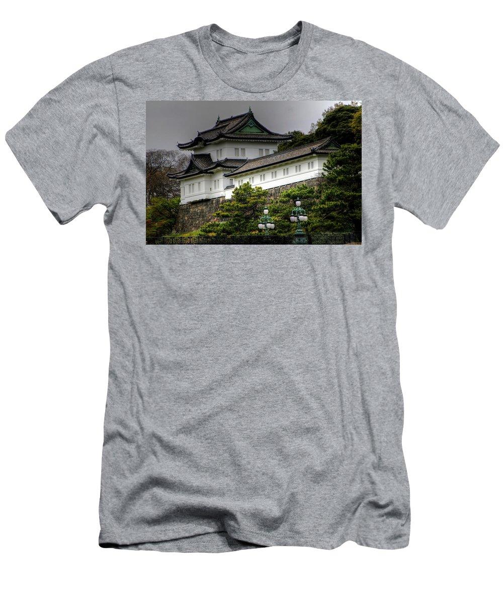 Tokyo Japan Men's T-Shirt (Athletic Fit) featuring the photograph Tokyo Japan by Paul James Bannerman