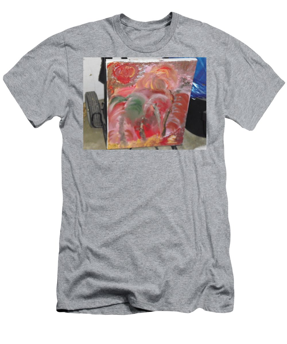 Men's T-Shirt (Athletic Fit) featuring the painting Flor Splendido by Eric Utin