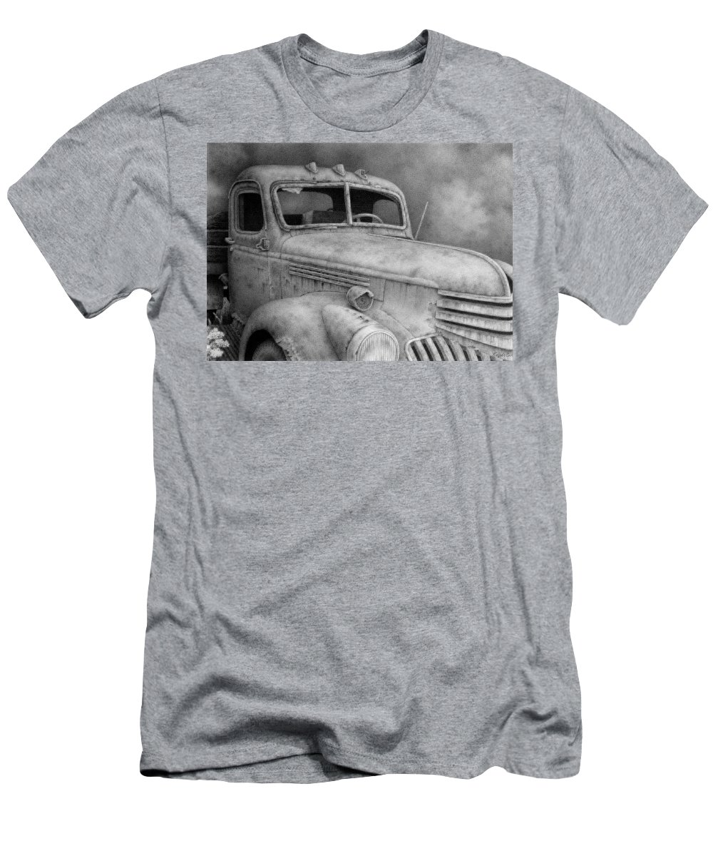 Old Chevy Truck Drawings T-Shirts