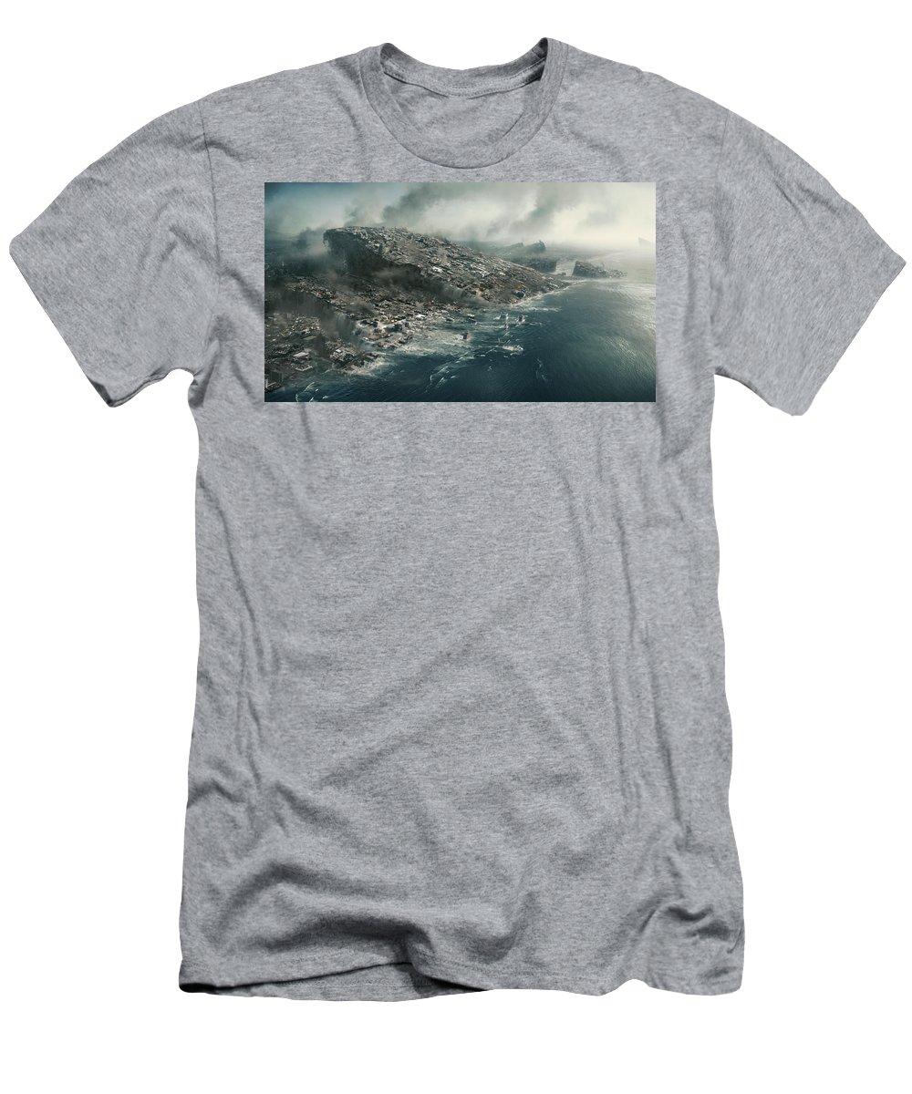 2012 2009 Men's T-Shirt (Athletic Fit) featuring the digital art 2012 2009 by Geek N Rock
