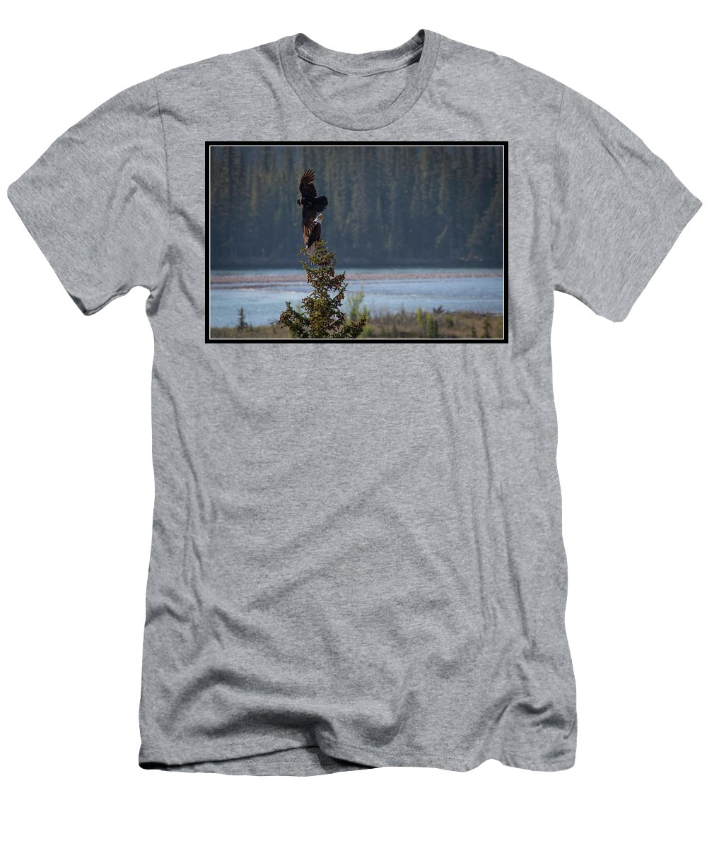 Men's T-Shirt (Athletic Fit) featuring the photograph 6 by J and j Imagery