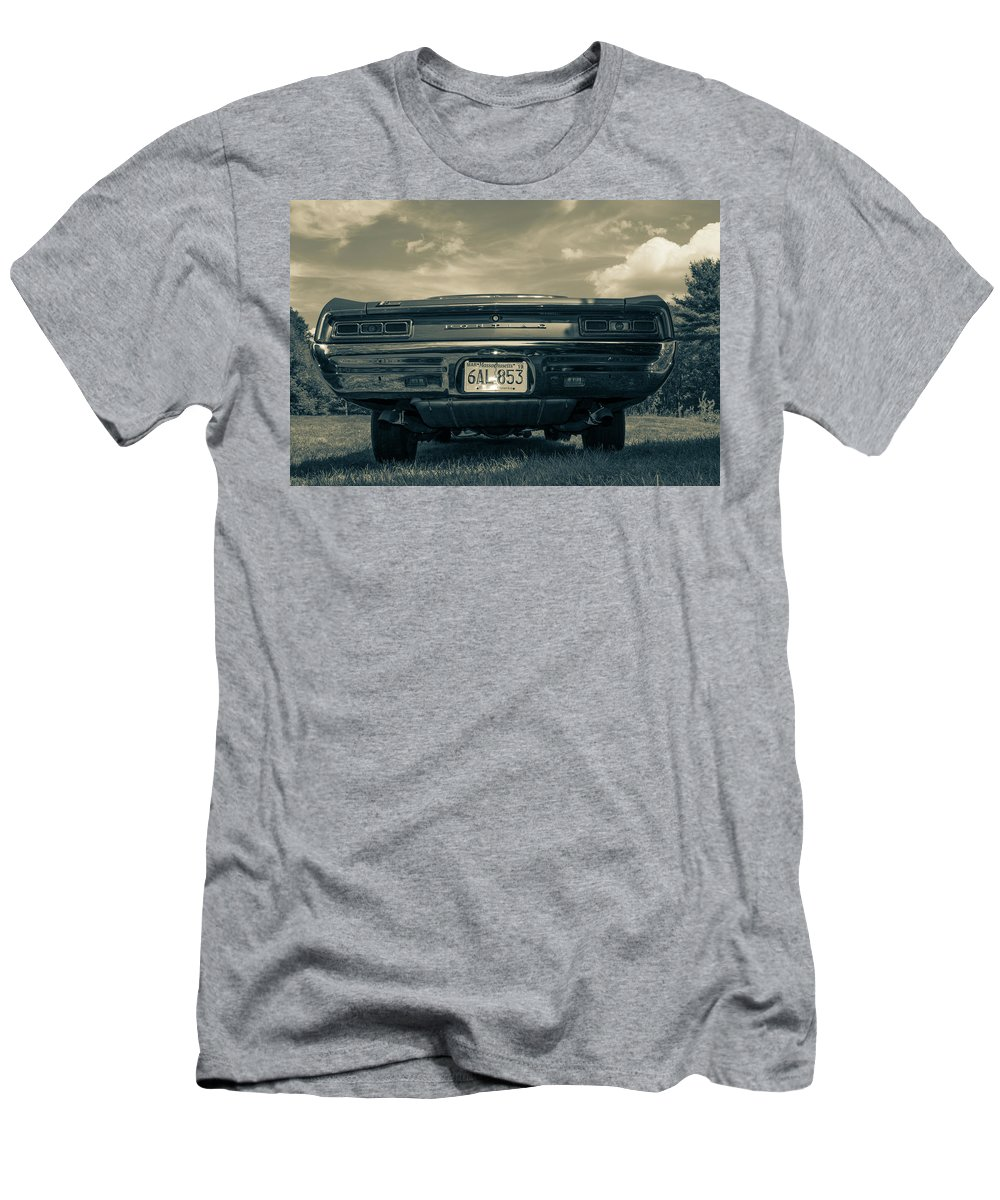 Gto Men's T-Shirt (Athletic Fit) featuring the photograph Classic Cars by Mickie Bettez