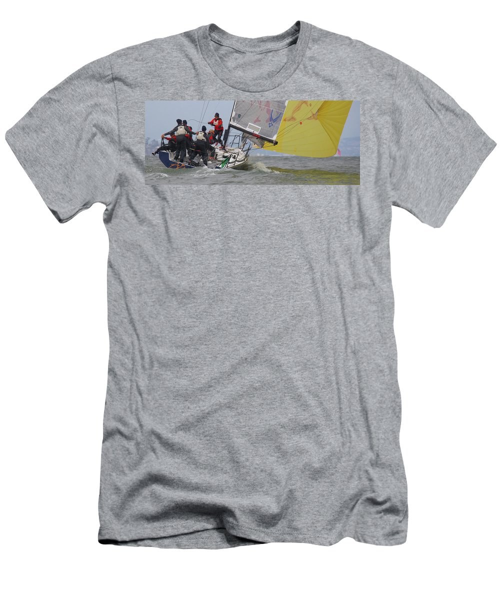 Rolex Men's T-Shirt (Athletic Fit) featuring the photograph Rolex Bbs by Steven Lapkin