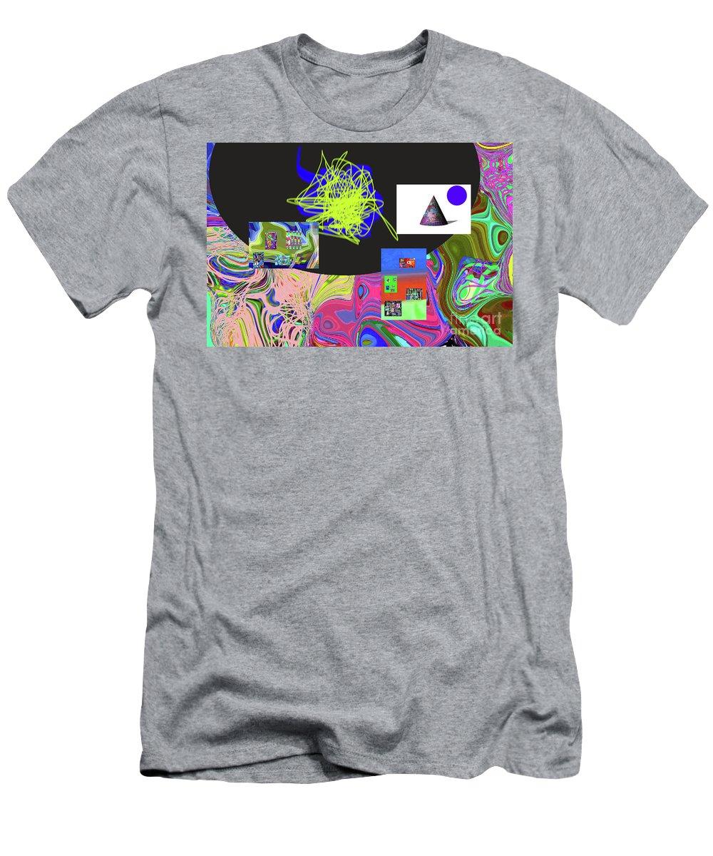Walter Paul Bebirian Men's T-Shirt (Athletic Fit) featuring the digital art 7-20-2015gabcdefghijk by Walter Paul Bebirian