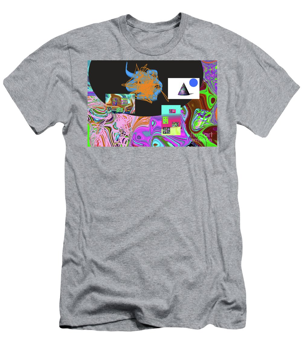 Walter Paul Bebirian Men's T-Shirt (Athletic Fit) featuring the digital art 7-20-2015gabcdefghijklmno by Walter Paul Bebirian