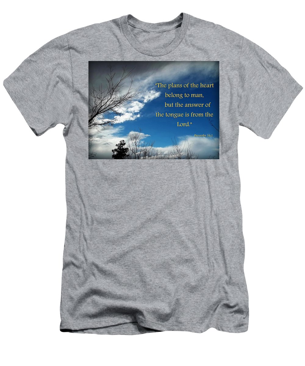 Sky Men's T-Shirt (Athletic Fit) featuring the photograph A Change Of Plan by Glenn McCarthy Art and Photography