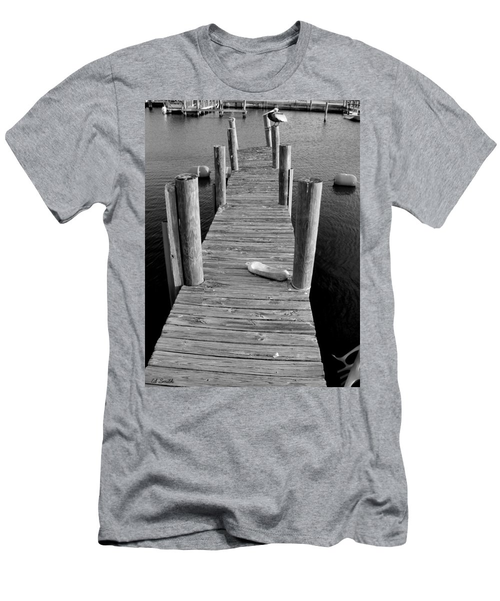 A Heavy Weight Men's T-Shirt (Athletic Fit) featuring the photograph A Heavy Weight by Edward Smith