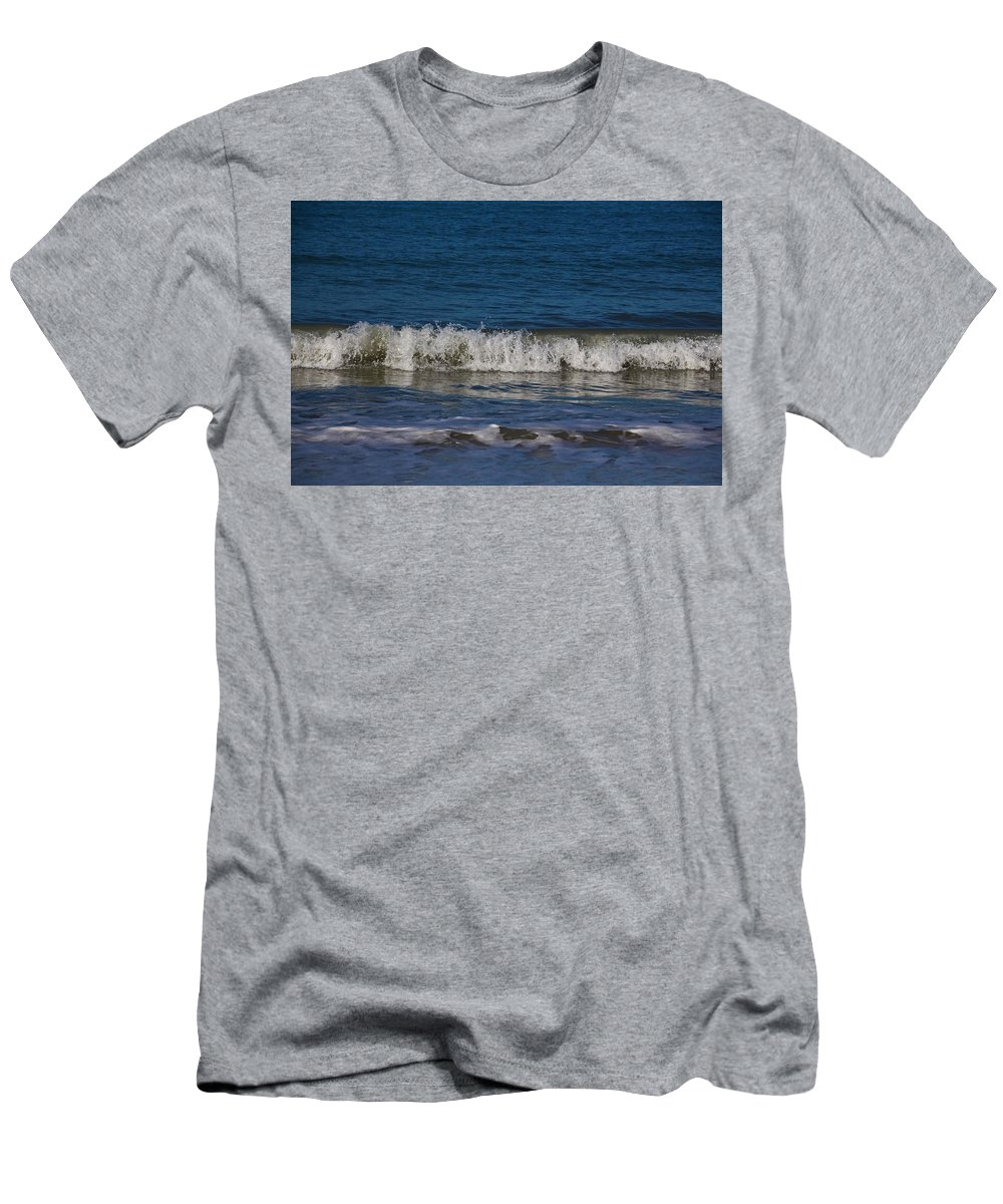 Sea Men's T-Shirt (Athletic Fit) featuring the photograph A Sea Of Delight by Michiale Schneider