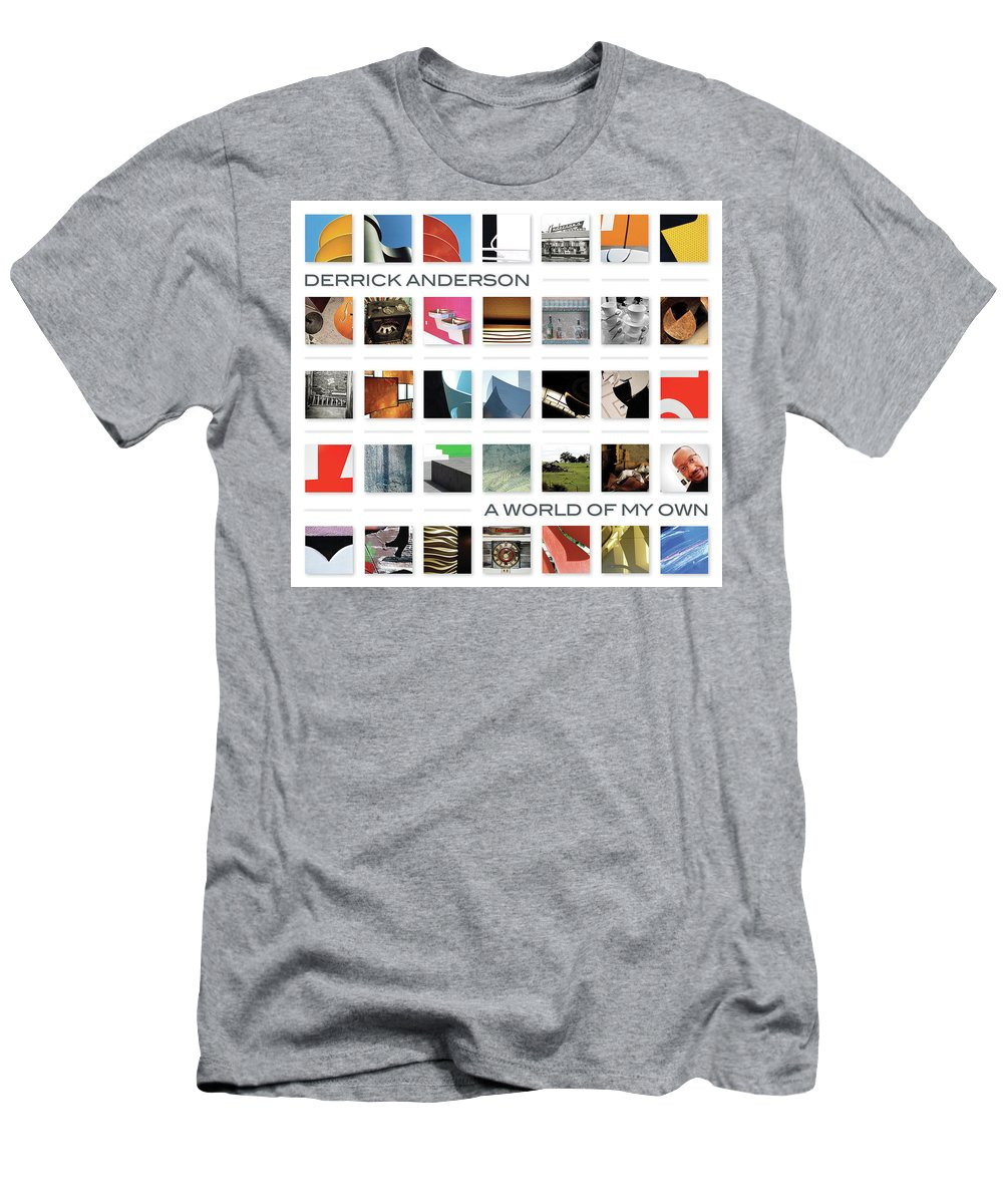 Men's T-Shirt (Athletic Fit) featuring the photograph A World Of My Own by Derrick Anderson