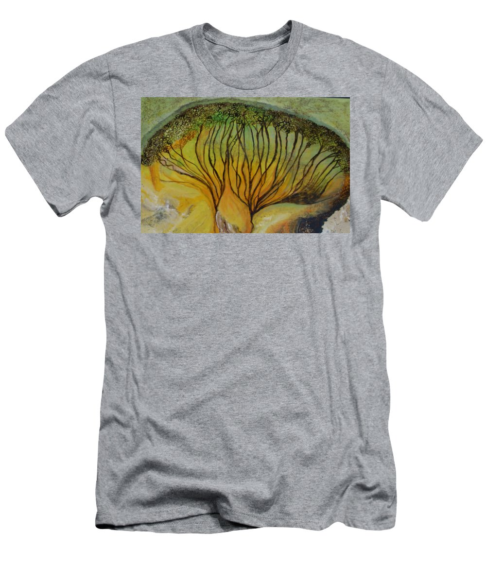 T-Shirt featuring the painting AA dream by Carol P Kingsley