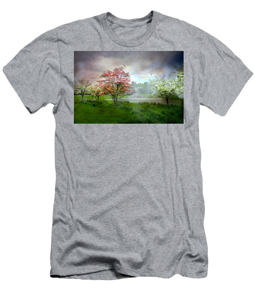 Abandon Me Men's T-Shirt (Athletic Fit) featuring the photograph Abandon Me by Diana Angstadt