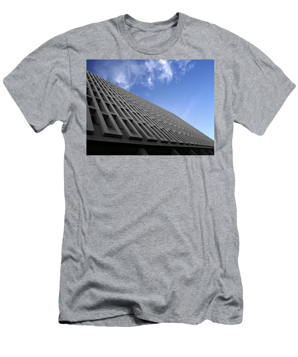 Building Men's T-Shirt (Athletic Fit) featuring the photograph ABC by Kelly Jade King