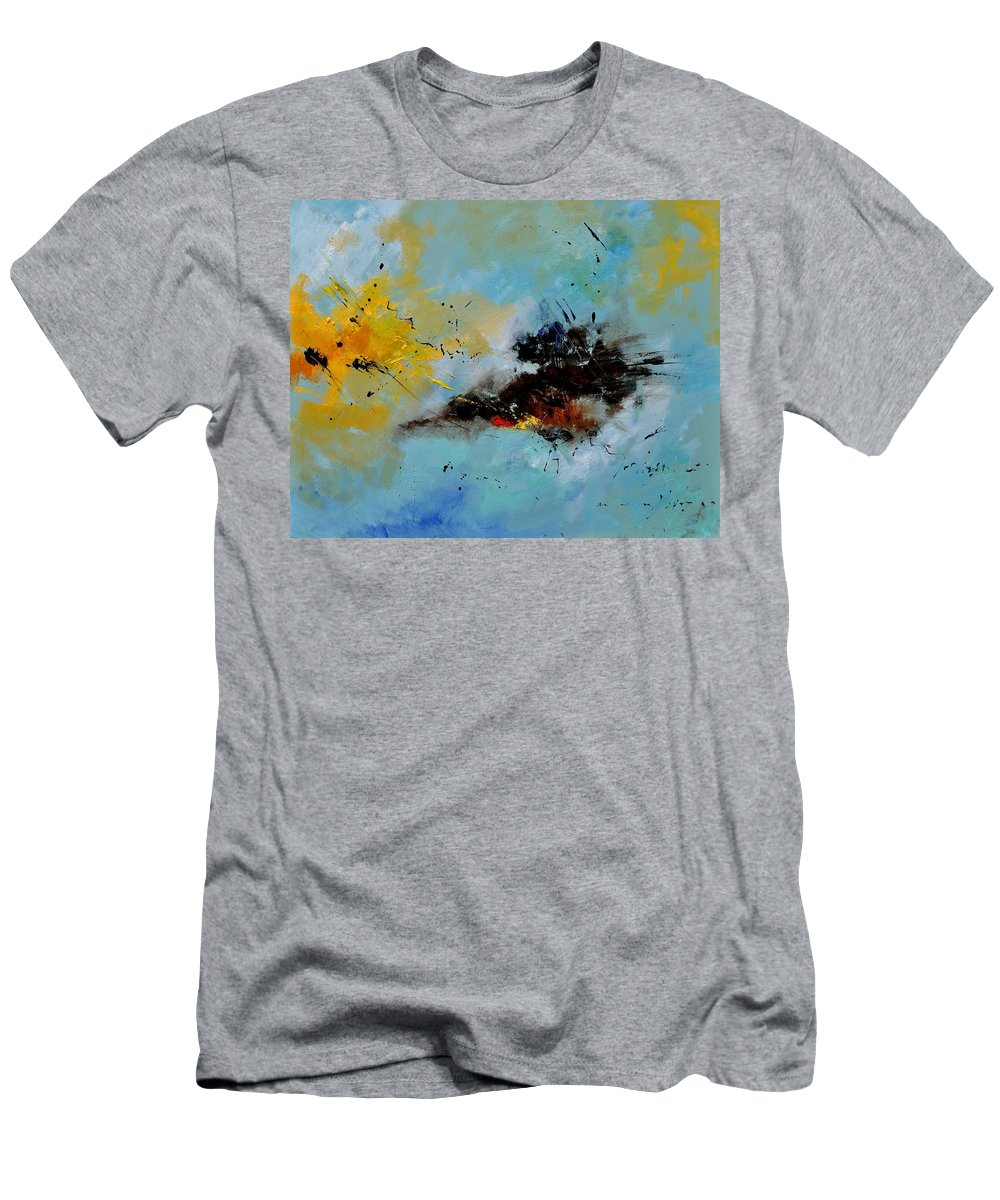 Abstract T-Shirt featuring the painting Abstract 1811803 by Pol Ledent
