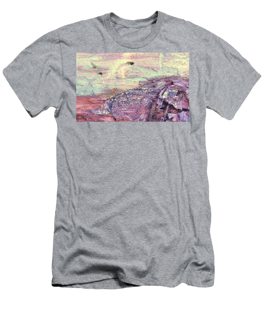 Abstract Men's T-Shirt (Athletic Fit) featuring the photograph Abstract 36 by Slawek Aniol