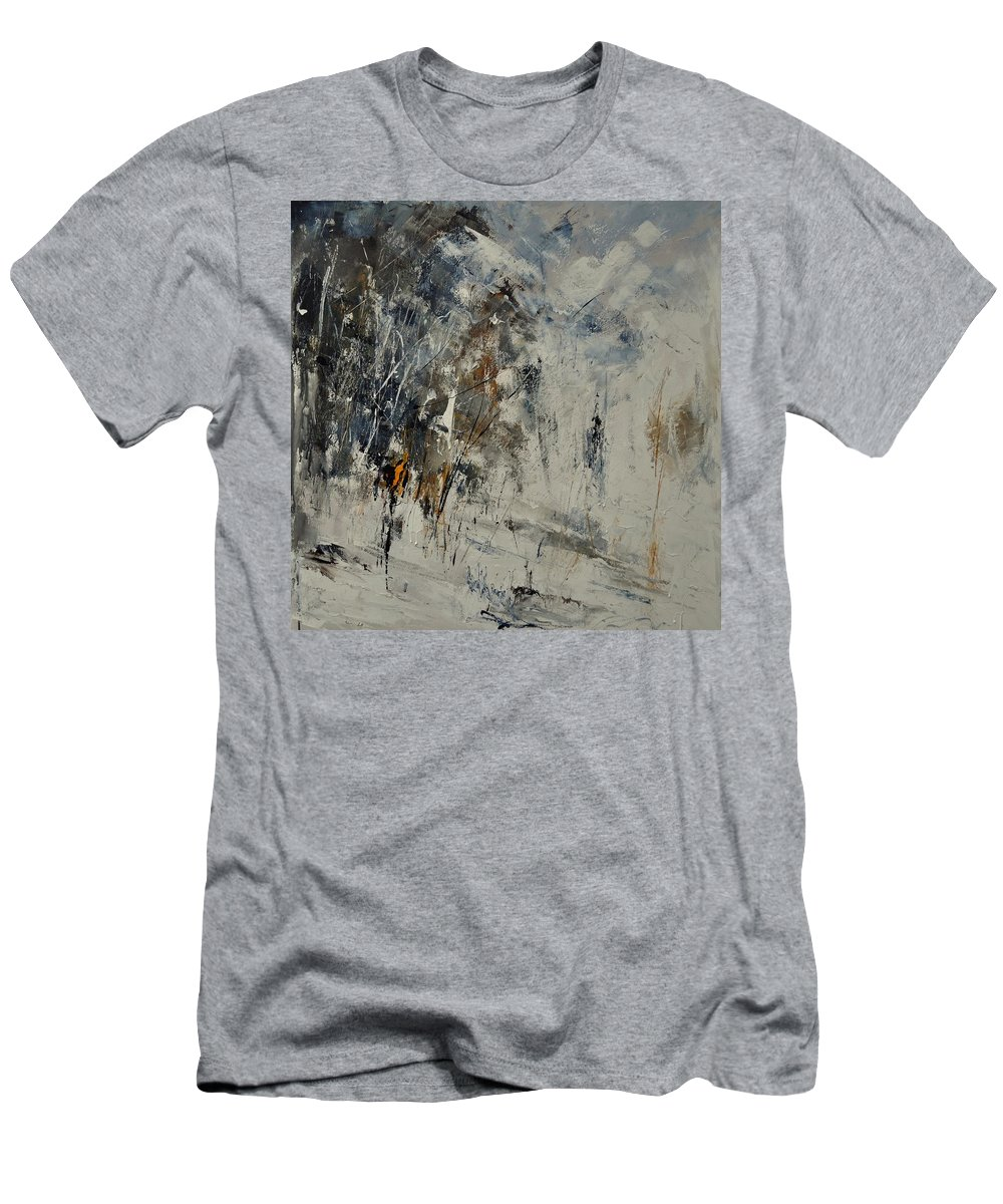 Abstract T-Shirt featuring the painting Abstract 8821207 by Pol Ledent