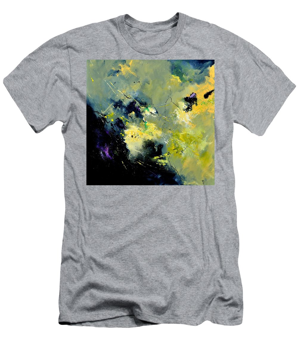 Abstract T-Shirt featuring the painting Abstract 8821603 by Pol Ledent