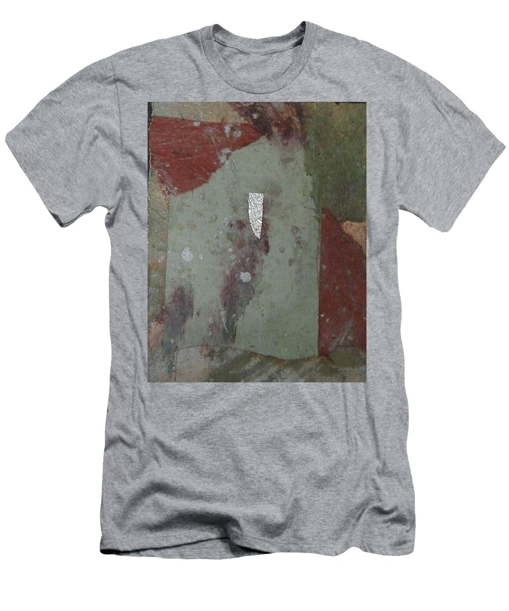 Men's T-Shirt (Athletic Fit) featuring the mixed media Abstract One by Pat Snook