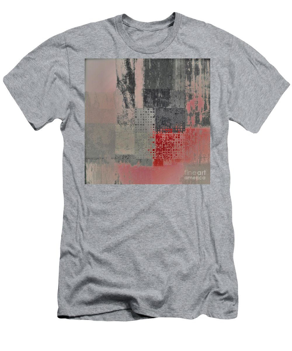 Abstract Men's T-Shirt (Athletic Fit) featuring the digital art Abstractionnel by Variance Collections