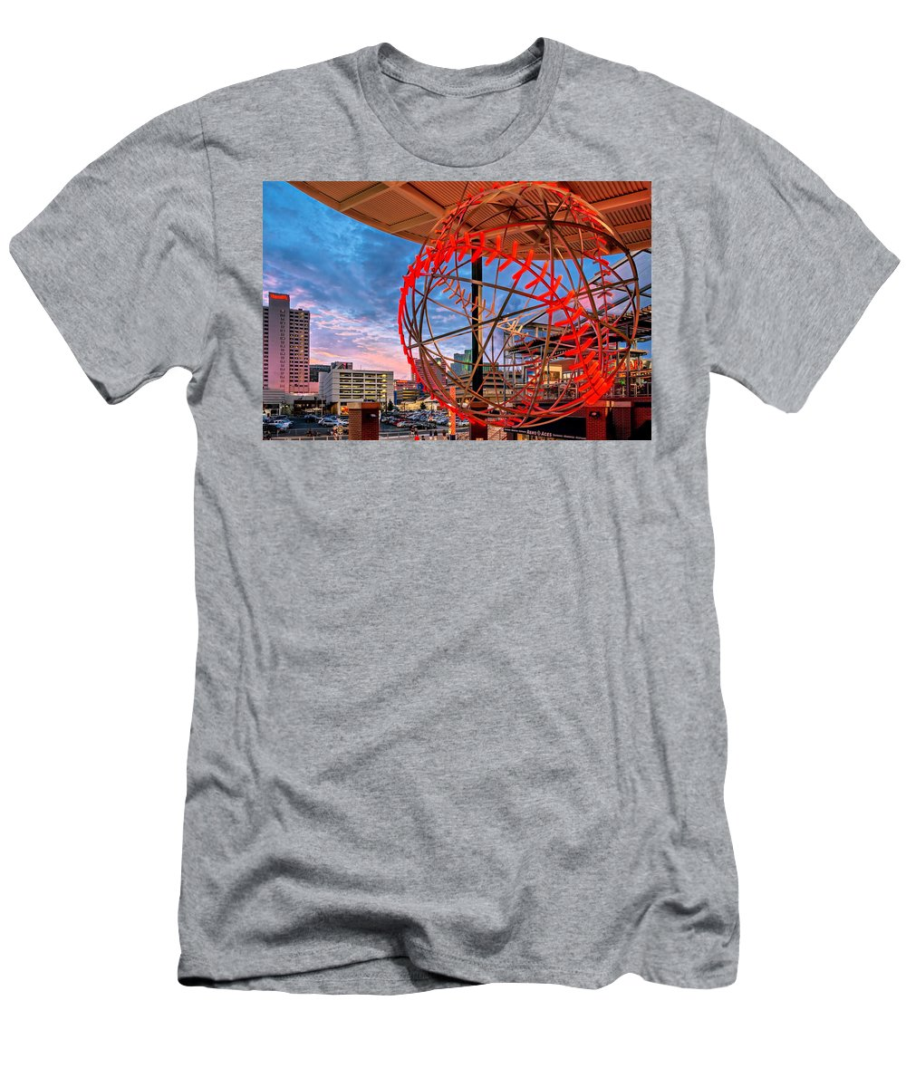 Activity Men's T-Shirt (Athletic Fit) featuring the photograph Acesball by Maria Coulson