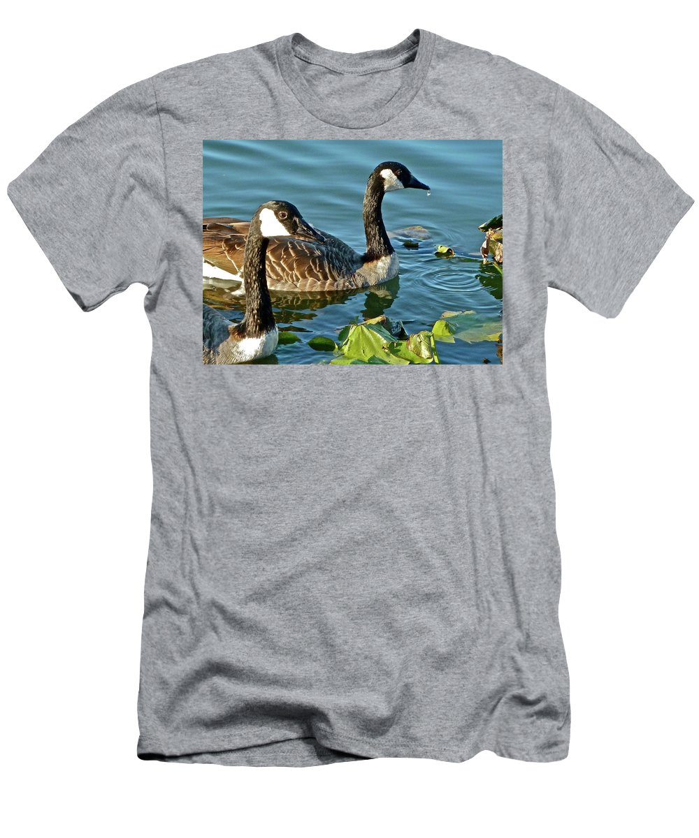 Bird Men's T-Shirt (Athletic Fit) featuring the photograph Adolescents by Diana Hatcher
