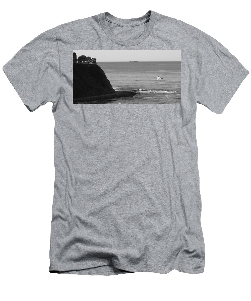 Ocean Men's T-Shirt (Athletic Fit) featuring the photograph Adrift by Shari Chavira