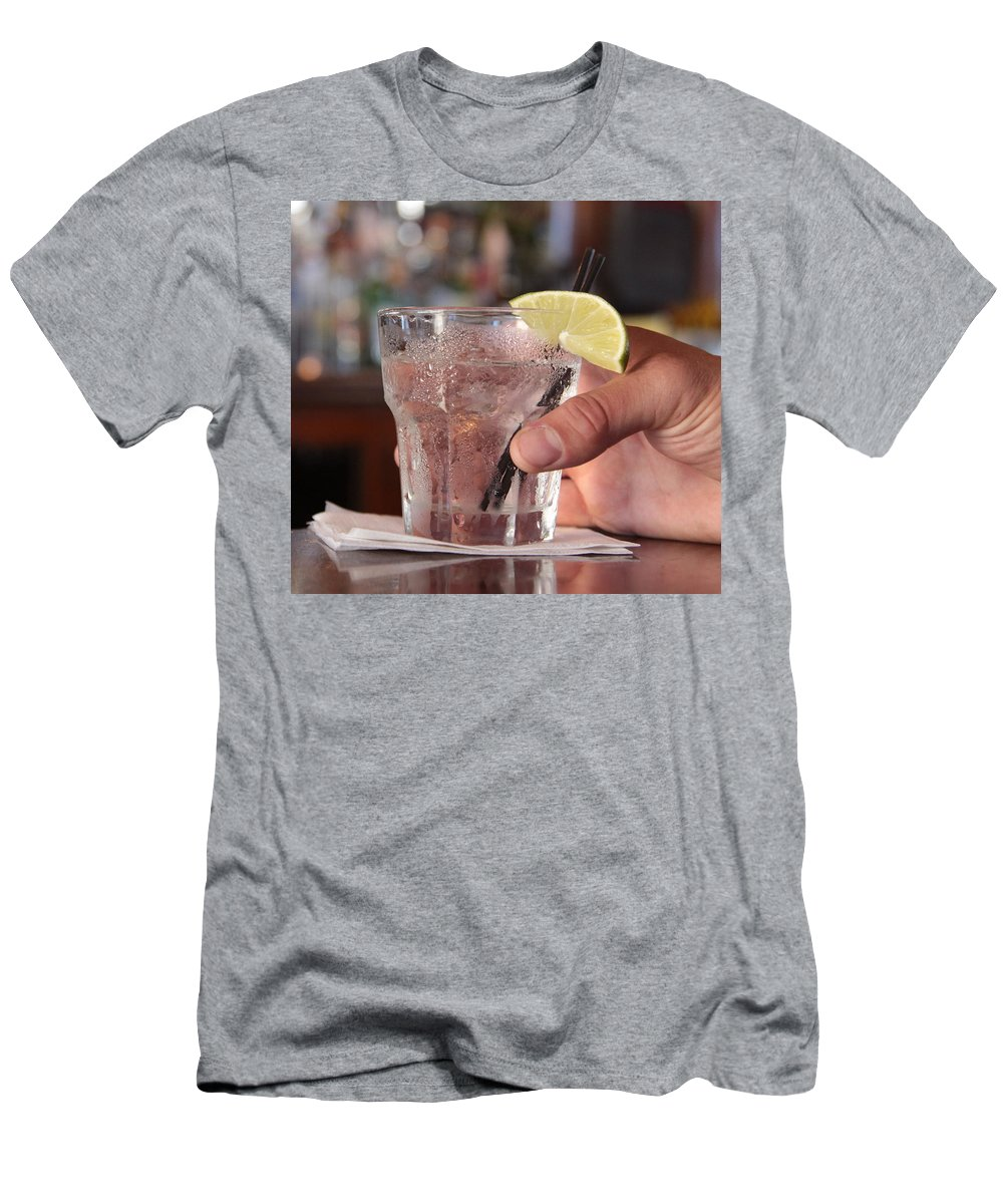 Cocktail Men's T-Shirt (Athletic Fit) featuring the photograph After Hours by Robert Pearson