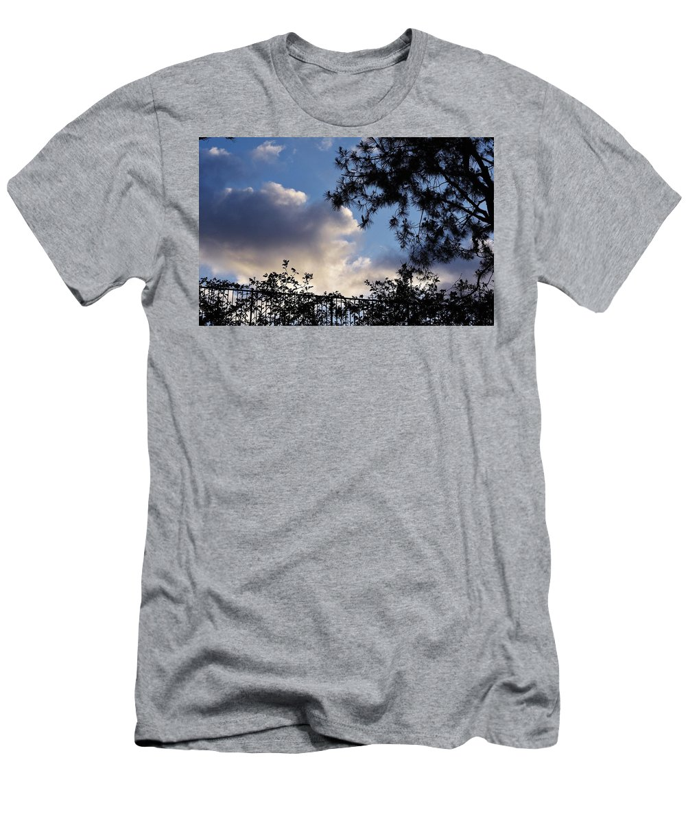 Linda Brody Men's T-Shirt (Athletic Fit) featuring the photograph After The Rain II by Linda Brody
