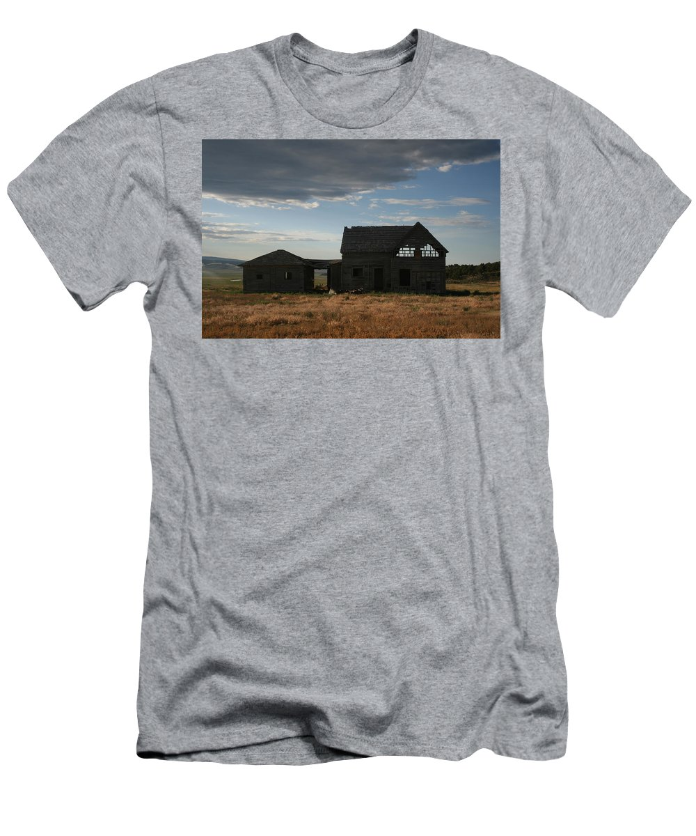 Old Men's T-Shirt (Athletic Fit) featuring the photograph Age Before Beauty by Ashlyn Yates