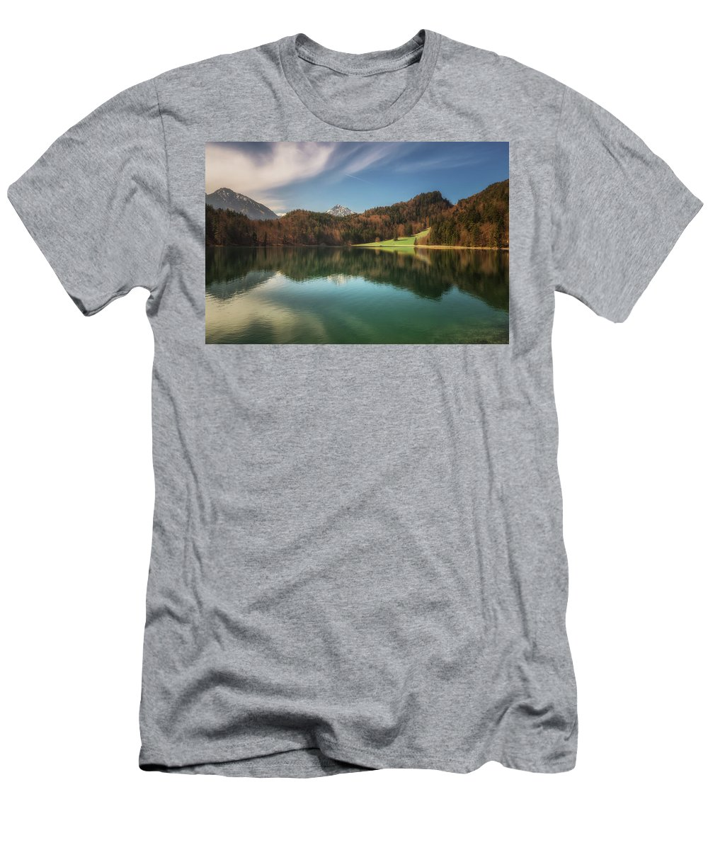 Alatsee Men's T-Shirt (Athletic Fit) featuring the photograph Alatsee No 2 by Chris Fletcher