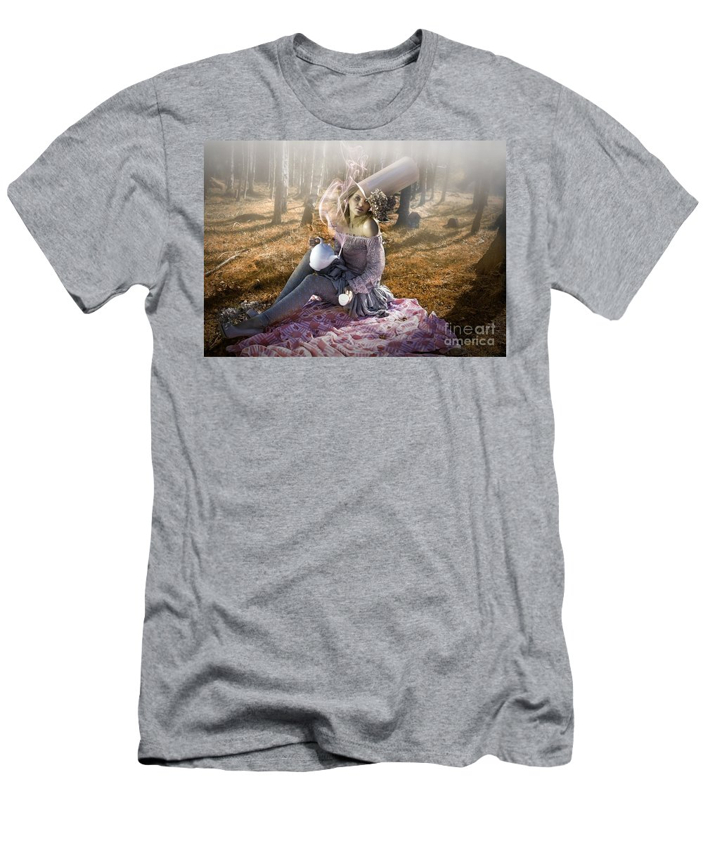 Fun Men's T-Shirt (Athletic Fit) featuring the photograph Alice by Pat Clifford