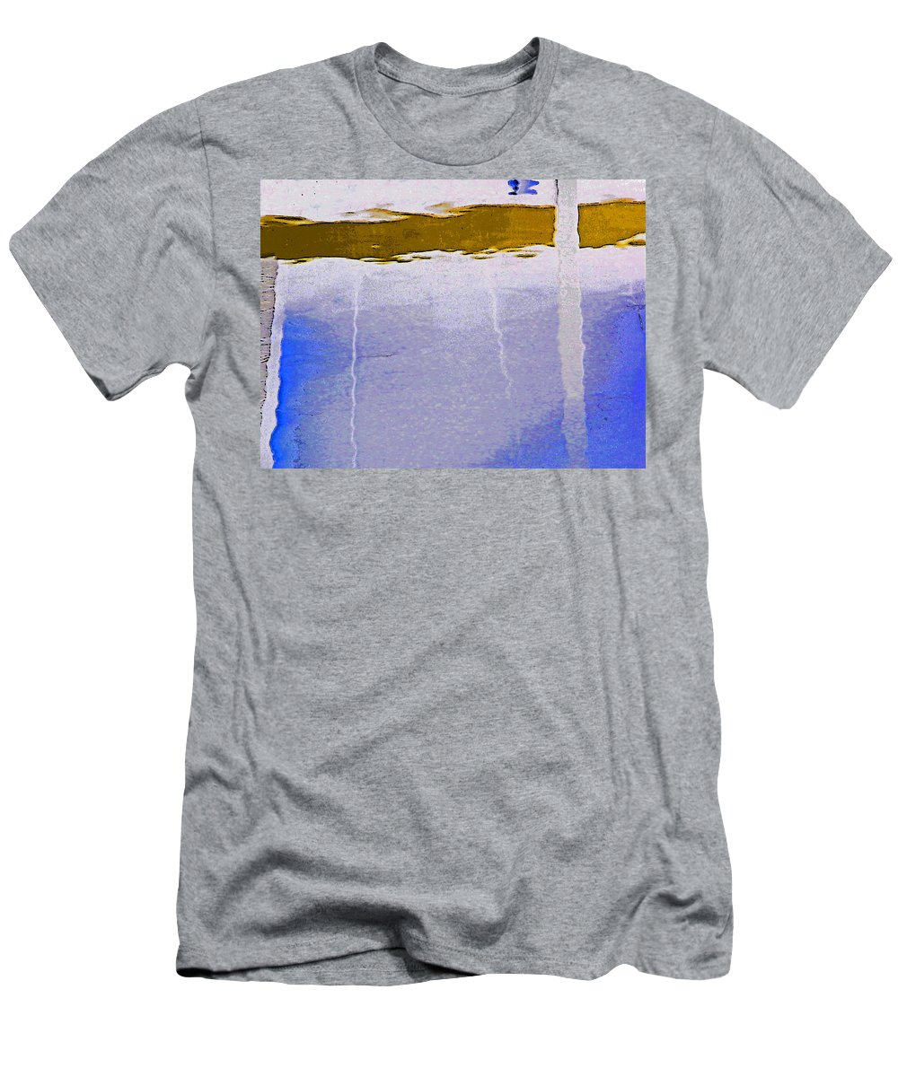 Abstract Men's T-Shirt (Athletic Fit) featuring the digital art Alternate Reality 13-3 by Lenore Senior