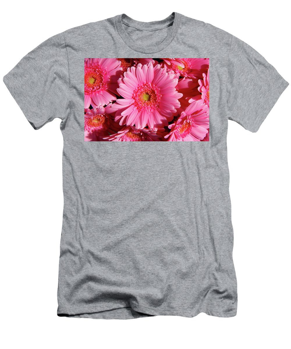 Amsterdam Men's T-Shirt (Athletic Fit) featuring the photograph Amsterdam In Pink by KG Thienemann