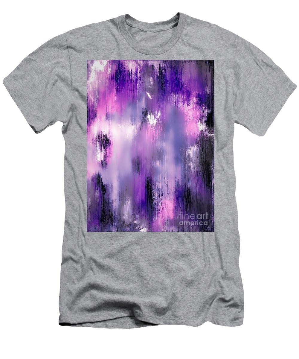 Abstract Men's T-Shirt (Athletic Fit) featuring the painting An Angels Smile by Wayne Cantrell