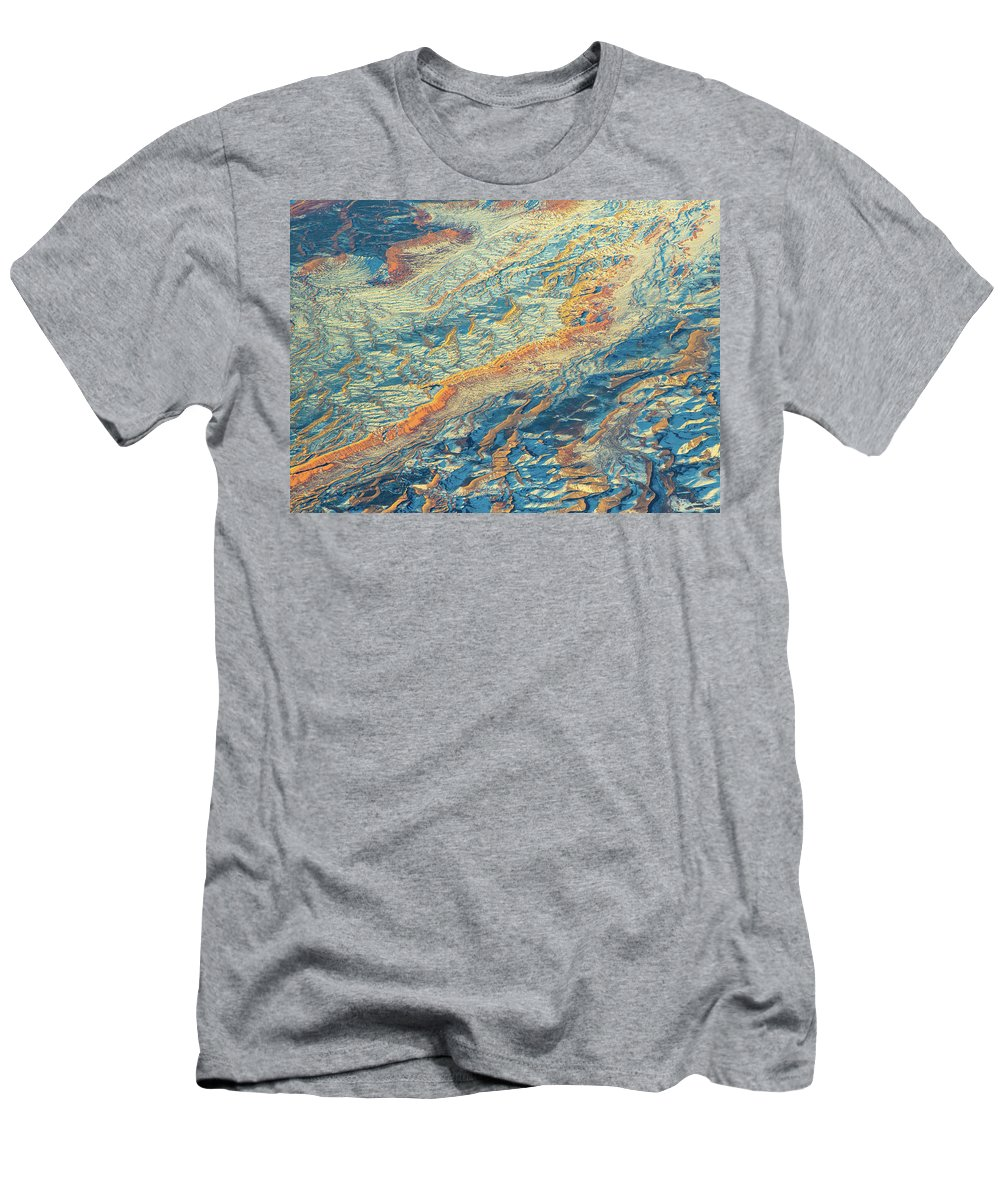 Nevada Men's T-Shirt (Athletic Fit) featuring the photograph An Unprescedented View by Michael Balen