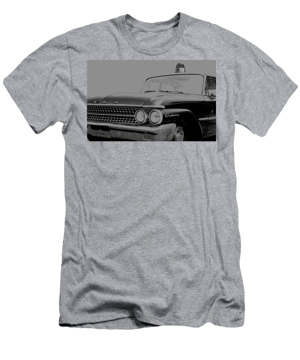 Andy Is That You Men's T-Shirt (Athletic Fit) featuring the photograph Andy Is That You by Ed Smith