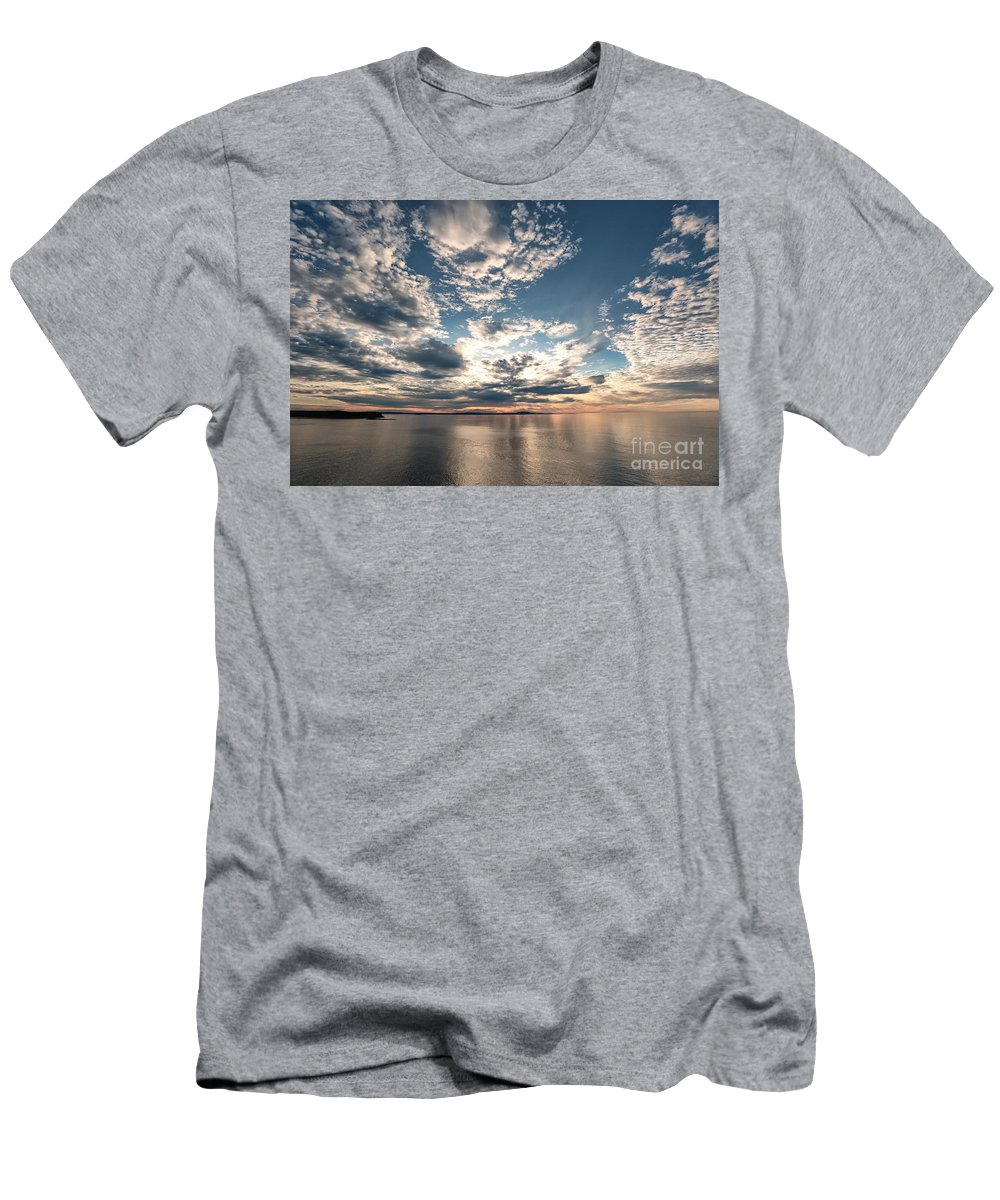 Park Loop Road Men's T-Shirt (Athletic Fit) featuring the photograph Angel Wings by Susan Garver