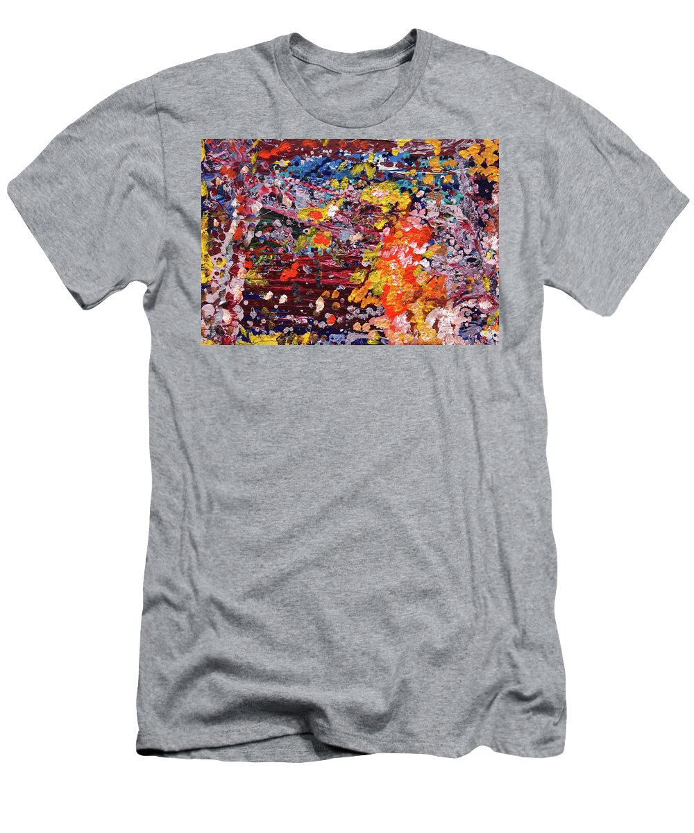 Fusionart T-Shirt featuring the painting Aquarium by Ralph White