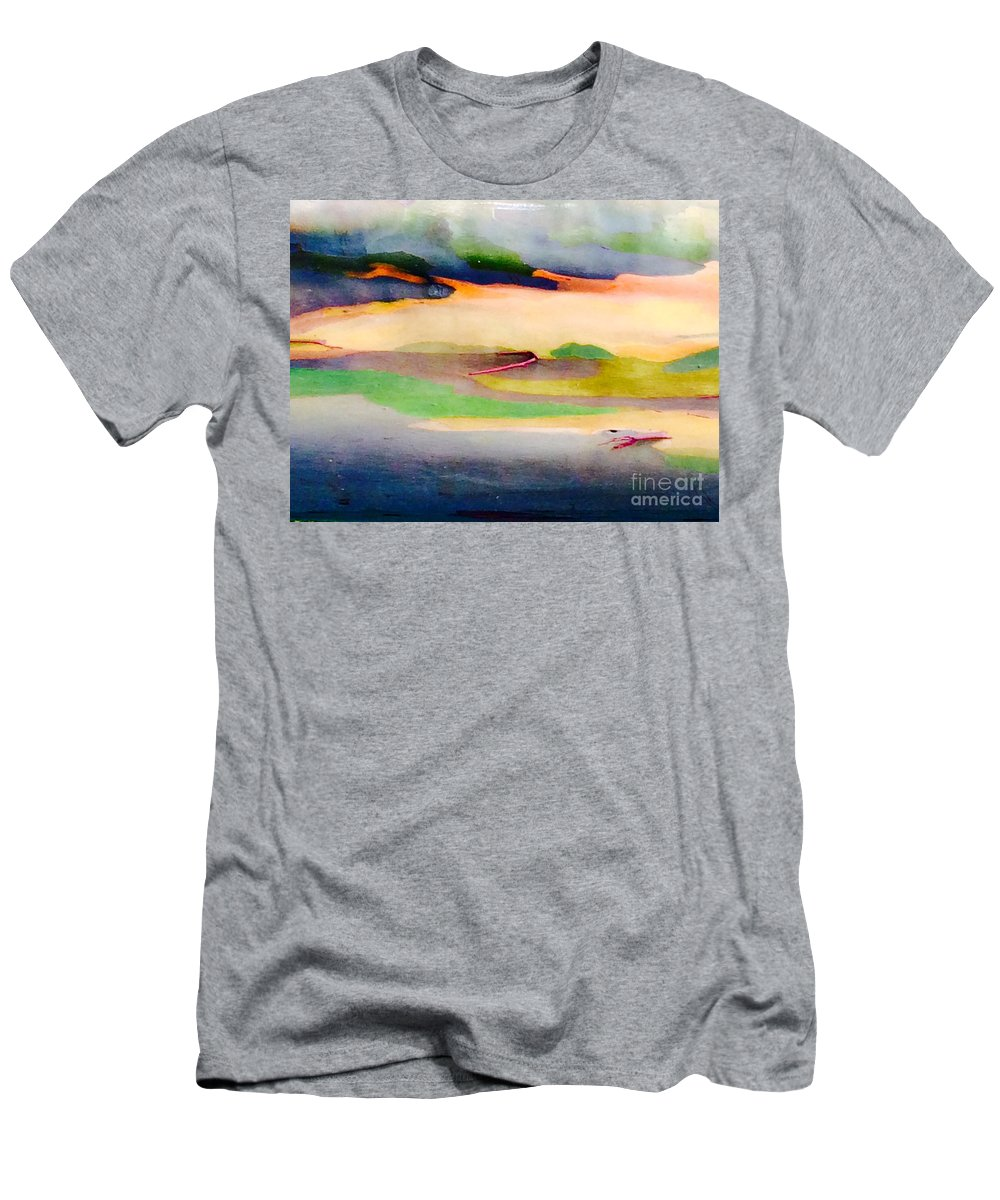 Nature Men's T-Shirt (Athletic Fit) featuring the photograph Art By Nature by Natalia Wallwork