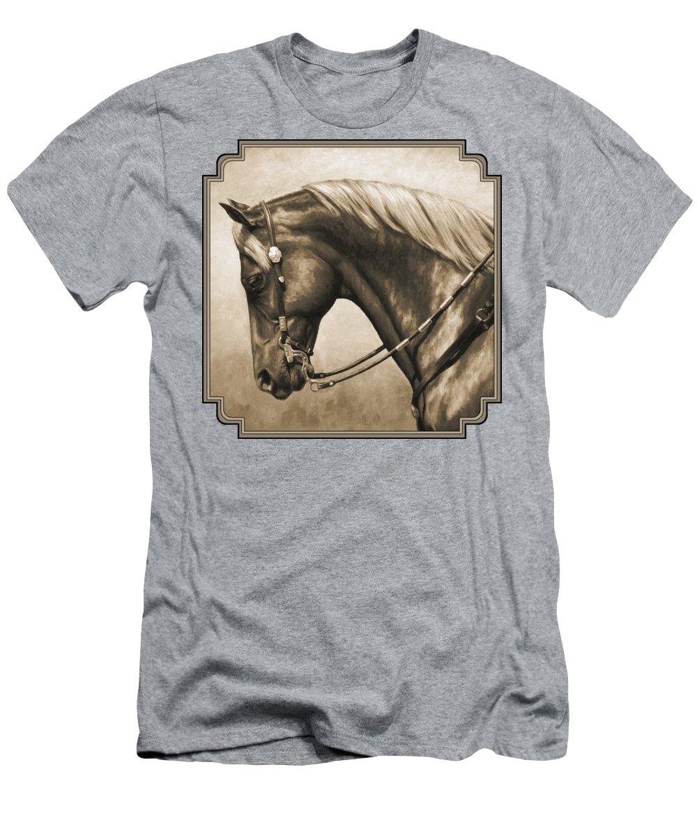 Horse Slim Fit T-Shirts