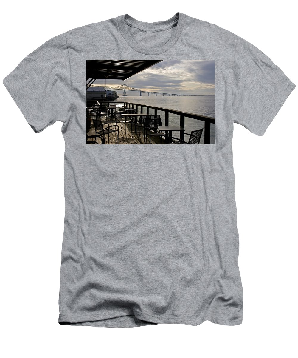 Scenic T-Shirt featuring the photograph Astoria by Lee Santa