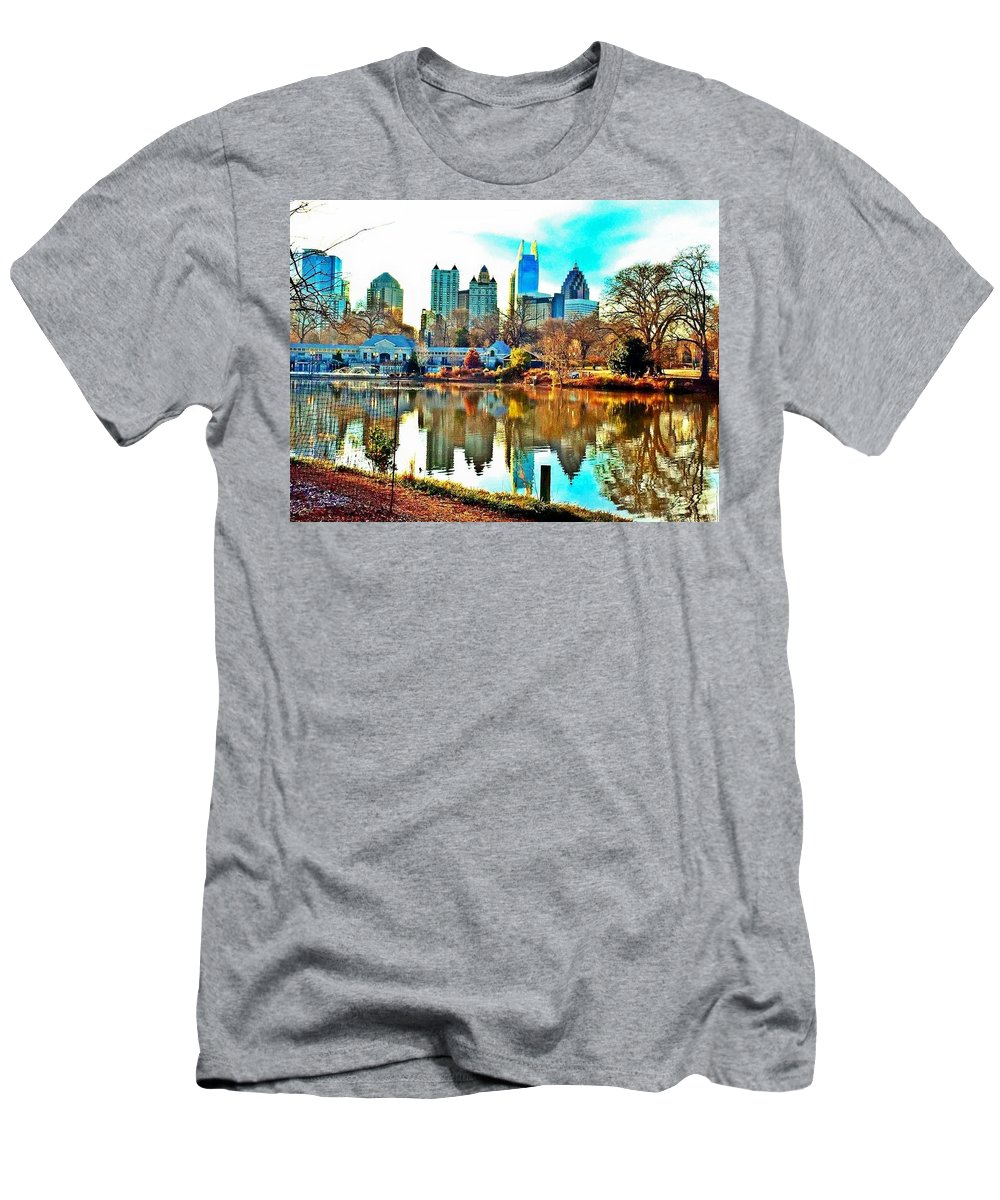 Men's T-Shirt (Athletic Fit) featuring the photograph Atlanta The Great by Richard Brooke
