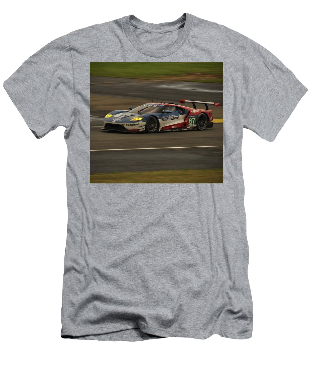 Ford Gt Men's T-Shirt (Athletic Fit) featuring the photograph Back After 50 Years by Eugene Kowalski