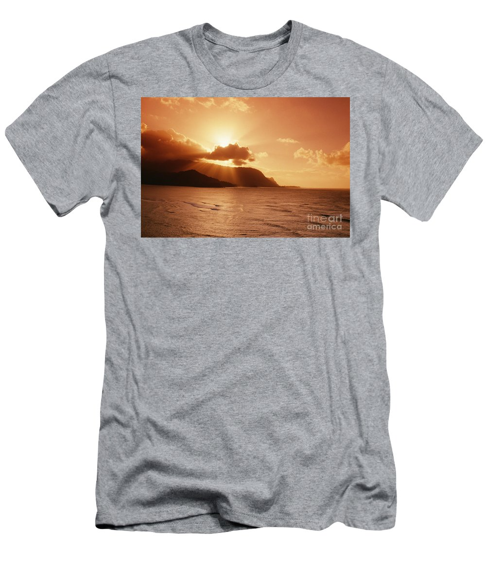 Bali Hai Men's T-Shirt (Athletic Fit) featuring the photograph Bali Hai Poin by Joe Carini - Printscapes