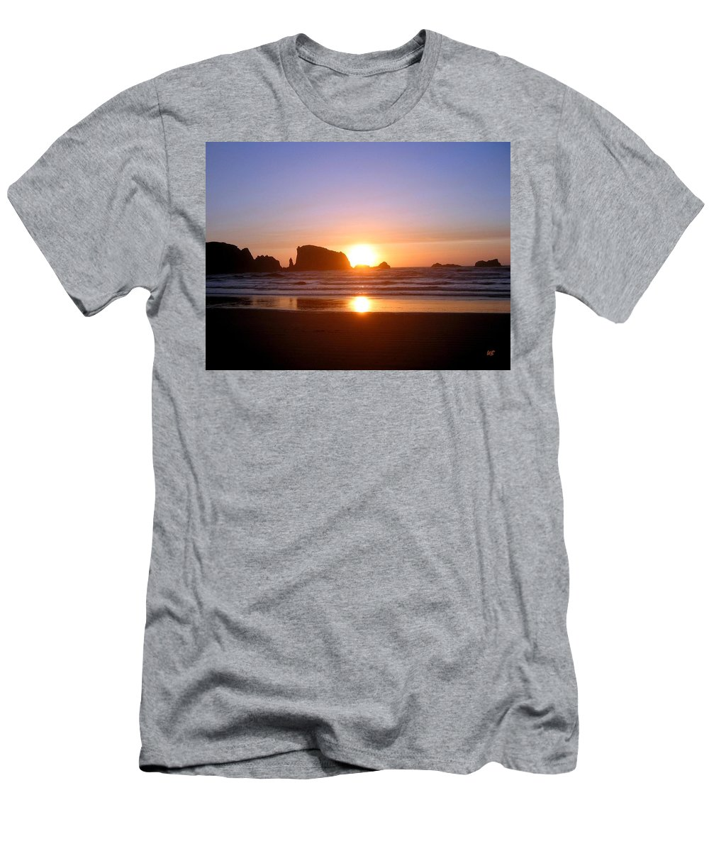Bandon Men's T-Shirt (Athletic Fit) featuring the photograph Bandon 7 by Will Borden