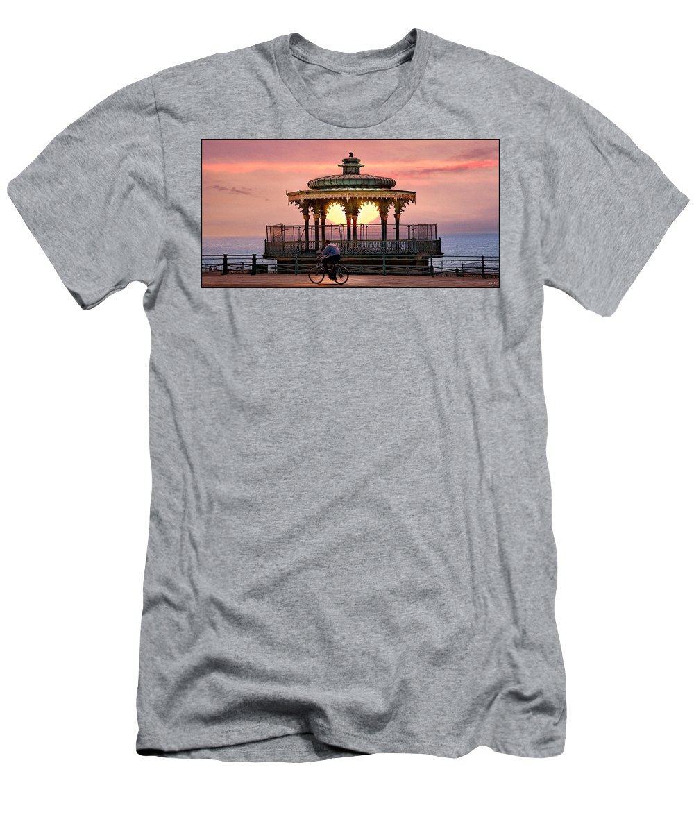 Bandstand Men's T-Shirt (Athletic Fit) featuring the photograph Bandstand by Chris Lord